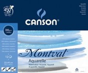 Canson Montval Bloc Acuarela A3  20 hojas  300gr Ref. 0807427