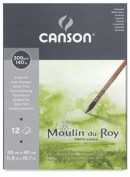 Canson Molin du Roy Bloc Acuarela Grano Fino 30x40 cm