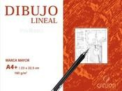 Bloc de Dibujo Lineal Marca Mayor A4+ Guarro Ref. 0401742 IP