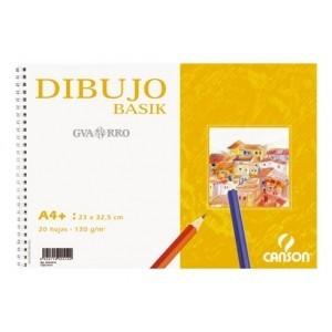 Bloc Dibujo Basik 130gr. CANSON A4+ Ref. 0408062 IP