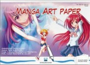 Bloc Manga Art Paper A4 Shoellerhammer