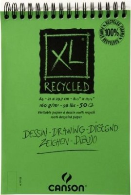 Bloc Canson XL RECYCLED 100% A3 Ref 777129