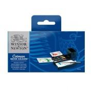 Acuarelas Cotman Winsor & Newton Caja de Campo 5845