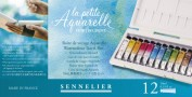 Caja Acuarelas Sennelier L'Aquarelle Caja de Viaje N131682.00