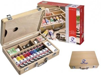 Caja Colores Acrílicos Van Gogh