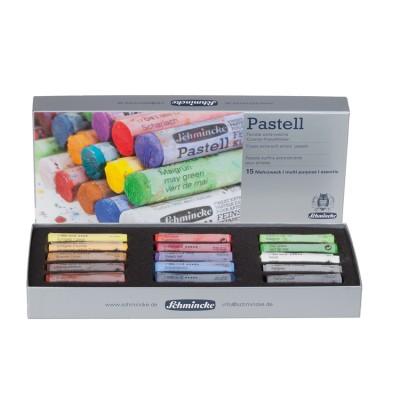 Pasteles Schmincke caja 15 colores 77115