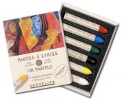 Sennelier Caja Oil Pastels Iridiscentes N132519.61