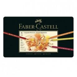 Faber Castell Polychromos Estuche 36 lápices colores