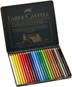 Lápices Colores Faber Castell Polychromos Caja 24 colores