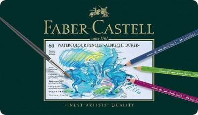 Faber Castell Albrecht Dürer Caja Lápices Acuarelables 60 lápices