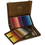 Caran D'Ache Pablo 120 colores. Caja de madera