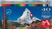 Lapices Colores Caran d'Ache Prismalo 40  colores