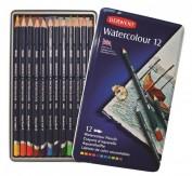 Derwent Watercolour 12 lápices de color acuarelables 32881