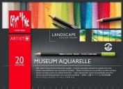 Museum Aquarelle Caran d'Ache 20 colores Paisaje 3510420