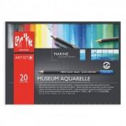 Museum Aquarelle Caran d'Ache 20 colores Marina 3510920