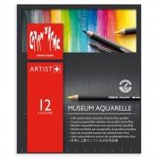 Museum Aquarelle Caran d'Ache 12 Colores