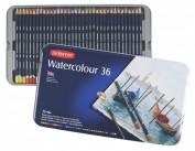 Derwent Watercolour 36 lápices de color acuarelables