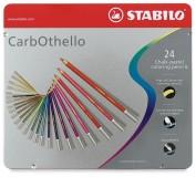 Lapices Pastel Stabilo Carbothello Caja 24 colores