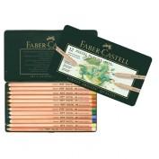 Lápiz Pastel Faber Castell 112112 caja 12 lápices