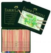 Faber Castell Lápices color Pastel Pitt 112124 Caja 24 lápices