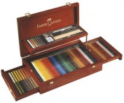 Caja Estuche de Madera Faber Castell  Art&Graphic Collection 110086