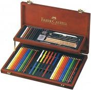 Caja Estuche de Madera Faber Castell  Art&Graphic Collection 110088