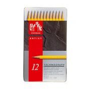 TECHNOGRAPH lápiz grafito caja metálica cd777-312