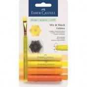 Gelato Faber Castell Ceras acuarelables Gama amarillos 121801