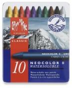 Ceras Acuarelables Neocolor II Caja 10 unidades