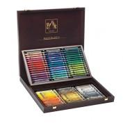 Caja Madera Neocolor II 84 ceras CD7500-484
