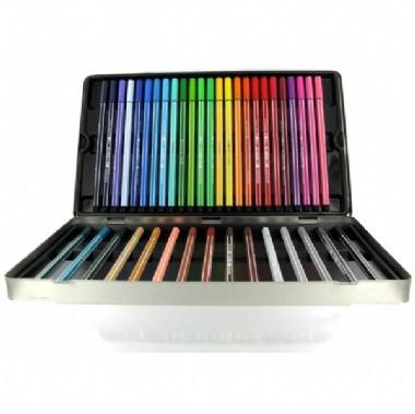 Rotuladores Stabilo Pen 68 Caja 40 colores