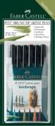 Estuche Rotuladores Pincel Faber Castell 6 colores Lanscape