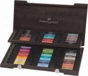 FABER CASTELL Pitt Artsit Pen Tinta China Caja madera 90 rotuladores 167400