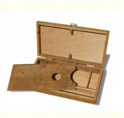 Caja Madera Pequeña para Estudio a13146