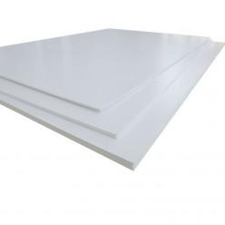Carton Pluma 100x70 Blanco Plum Cor 5 mm 25 hojas