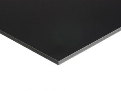 Cartón Pluma Negro 100x70 Plum Cor-Caja 25 unidades