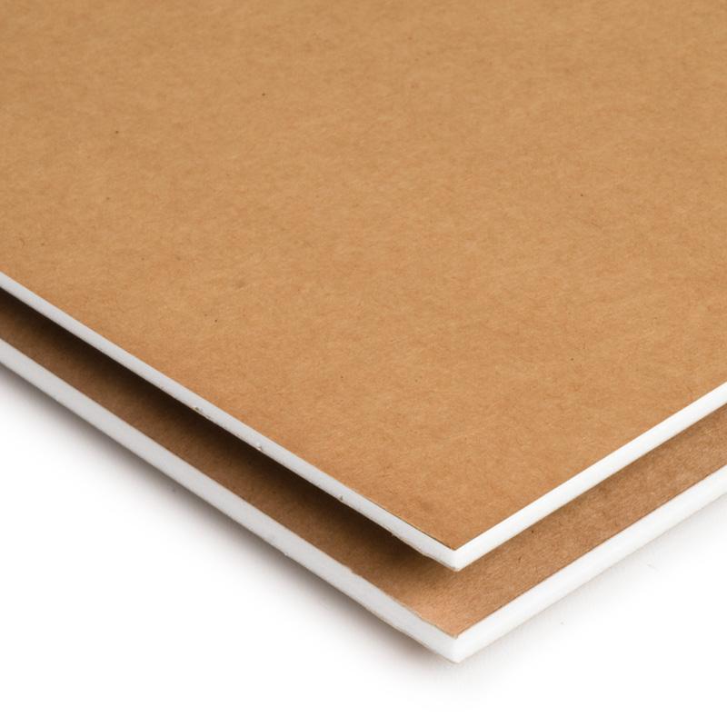 Cart n pluma kraft 100x70 for Carton para techos de madera