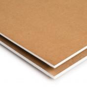Cartón Pluma Kraft 100x70 3 mm