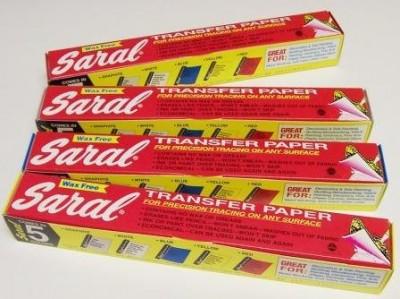 Papel transfer Saral para calcar Amarillo 490029900