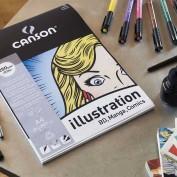 Canson Illustration BD Comic&Manga 50x65 25 hojas 200381500