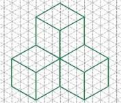 Papel Isométrico Exactor Bloc A4