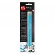 Lápiz azul no reproducible Sketcher Blister 2 lápices Caran d'Ache CD903302