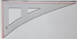 Cartabón Patronaje de Corte y Confección 60x30 cm 194561