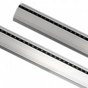 Reglas metálicas de aluminio 80cm 6401120