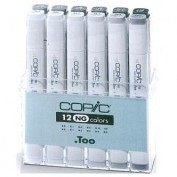 Copic Marker Caja 12 uds Neutral Grey C20075152