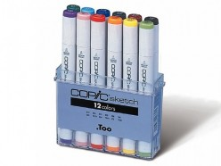 Copic Sketch Caja 12 rotuladores C2107502