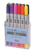 Copic Ciao Caja 12 rotuladores C22075312