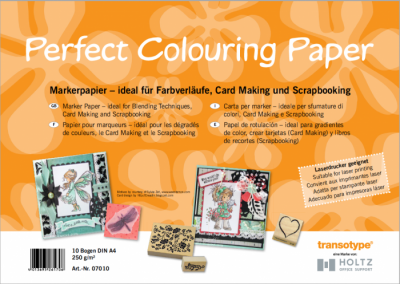 Perfect Colouring Paper A4 10 hojas C07010