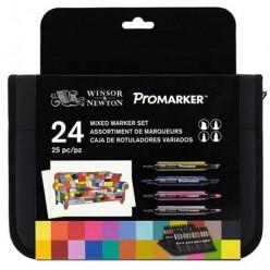 Promarker Set 24 rotuladores variados NOVEDAD