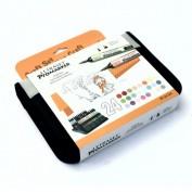 Promarker Winsor&Newton Set Manualidades 24 rotuladores Tonos Pastel